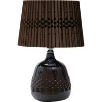 Čierna stolová lampa Mauro Ferretti Paralume