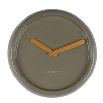 Zelené nástenné keramické hodiny Zuiver Ceramic