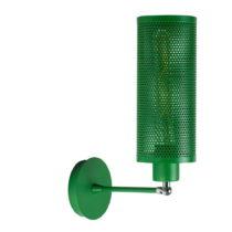 Zelená nástenná lampa Shade