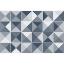 Sada 24 dekoratívnych samolepiek na stenu Ambiance Azulejos Shades, 20×&...