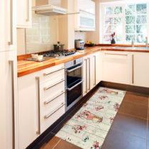 Vysokoodolný kuchynský behúň Webtappeti French Garden, 60&#...