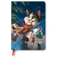 Linkovaný zápisník s tvrdou väzbou Paperblanks Cat and the Fiddl...