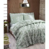 Ľahká prikrývka cez posteľ Pure Water Green,200&...