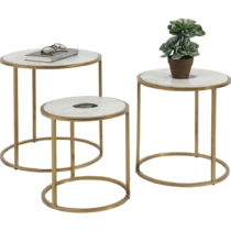 Sada 3 odkladacích stolíkov Kare Design Limbo
