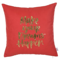 Červená obliečka na vankúš Apolena Dreams, 45 x 45 c...