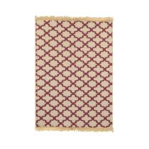 Béžovo-červený koberec Ya Rugs Claret, 120×...