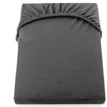 Tmavosivá elastická bavlnená plachta DecoKing Amber Collection, 200&#...
