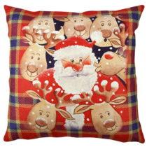 Vankúš Cute Christmas, 43×43 cm