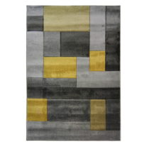 Koberec Flair Rugs Cosmos Grey Ochre, 160×230cm