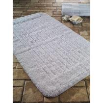 Biela predložka do kúpeľne Confetti Bathmats Cotton Stripe, 60&#xA0...