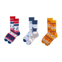 Sada 3 párov ponožiek v darčekovom balení Many Mornings Winter...