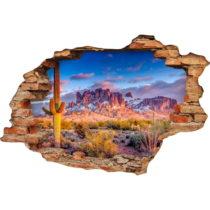 Samolepka na stenu Ambiance Desert, 60×90 cm