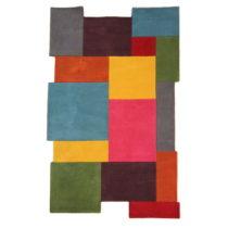 Vlnený koberec Flair Rugs Illusion Collage, 120x180cm