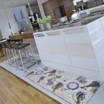 Koberec Universal Sprinty Lavender, 52 × 100 cm