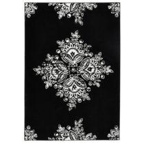 Čierno-biely koberec Hanse Home Gloria Blossom, 200x290cm