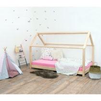 Prírodná detská posteľ bez bočníc zo smrekov...