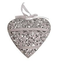 Závesné dekoratívne srdce Antic Line Pure Love