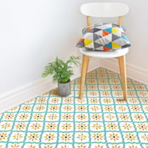 Samolepka na podlahu Ambiance Floor Sticker Marrakech, 40×40 cm