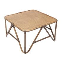 Ratanový konferenčný stolík RGE Sismondi, 87 x 87 cm