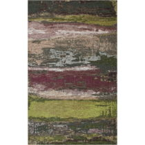 Koberec Eco Rugs Green Abstract, 135 × 200 cm