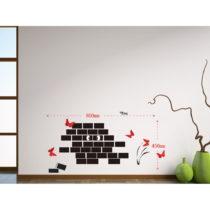 Nástenná samolepka Mauro Ferretti Wall, 45 × 80 cm