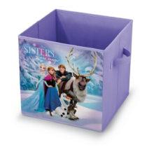 Fialový úložný box Domopak Living Frozen