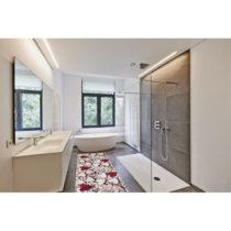 Vysokoodolný koberec Webtappeti Cuori, 58×115cm