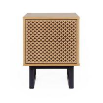 Nočný stolík z brezového dreva Woodman Mora Diamond Print