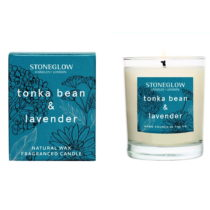 Sviečka s vôňou levandule Stoneglow, doba horenia 35 hodín