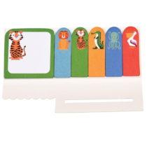 Sada 6 lepiacich bločkov Rex London Colourful Creatures