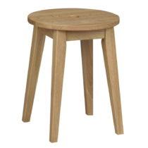 Prírodná dubová stolička Folke Gorgona, výšk...