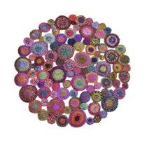 Bavlnený koberec Eco Rugs Whimsical, Ø 150 cm