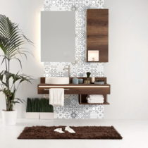 Sada 24 nástenných samolepiek Ambiance Wall Decal Tiles Azulejos Badgio, 15&#x...