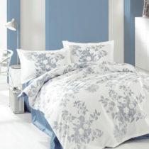 Bavlnené obliečky na jednolôžko Mya Blue, 160&#x...