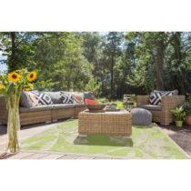 Zelený vysokoodolný koberec vhodný do exteriéru Floorita Palms G...