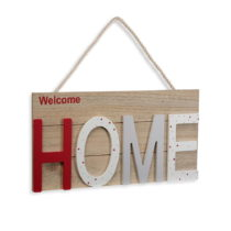 Závesná dekorácia z dreva VERSA Home, 38×20&...