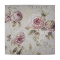 Obraz na plátne Antic Line Alaflore, 80×80cm