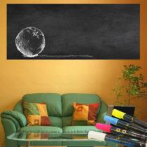 Set nástennej tabuľovej samolepky a 4 fixiek Ambiance Giant Chalkboard, 60&#x...