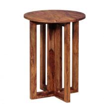 Odkladací stolík z masívneho palisandrového dreva Skyport Malvin...