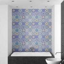 Sada 24 nástenných samolepiek Ambiance Wall Stickers Tiles Flamenco, 10&...