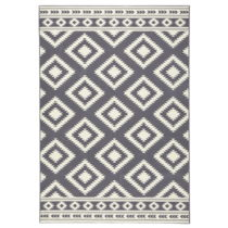 Sivý koberec Hanse Home Gloria Ethno, 80 x 200 cm