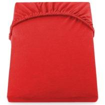 Červená elastická plachta z mikrovlákna DecoKing Amber Collecti...