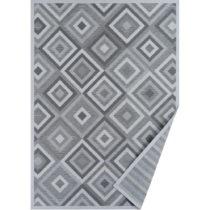 Sivý vzorovaný obojstranný koberec Narma Tahula, 160×&...