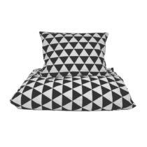 Bavlnené posteľné obliečky So Homely Big Triangles, 140&#x...