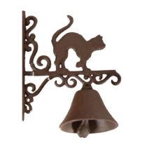 Nástenný domový zvonček Antic Line Cat
