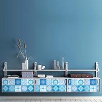 Sada 30 samolepiek na nábytok Ambiance Tiles Stickers For Furniture Suzia, 20&...