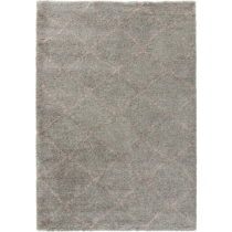 Sivý koberec Mint Rugs Allure Ronno Grey Rose, 80 × 150 cm
