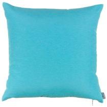 Tyrkysovomodrá obliečka na vankúš Apolena Simply Blue, 41 x 41...