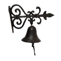 Nástenný liatinový domový zvonček Antic Line