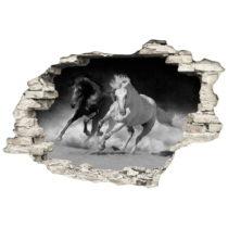 Samolepka Ambiance Horses, 60×90 cm